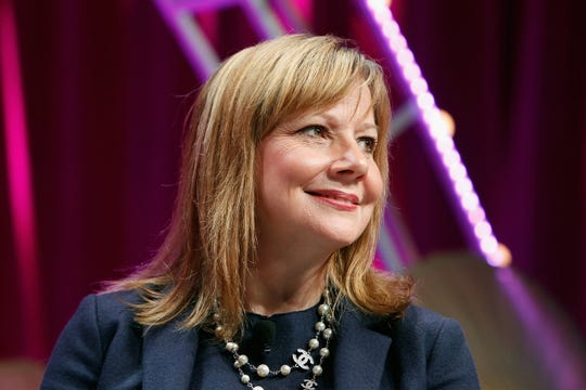 GM CEO Mary Barra  received $21.6 million in compensation last year, making her the highest-paid executive among the Detroit Three automakers.