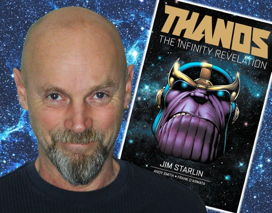 Detroit native Jim Starlin, who created the villain Thanos, will make his first appearance at the Great Lakes Comic Convention in Warren Feb. 21-22.