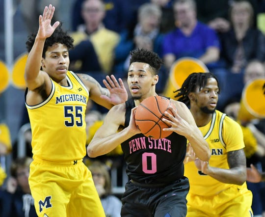 Over the past six games, starting with the Jan. 28 win at Nebraska, Michigan ranks third in the conference in adjusted defensive efficiency (0.873 points per possession) and effective field-goal percentage defense (42.7 percent) behind Minnesota and Maryland.