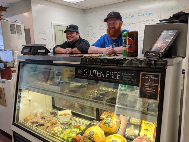 Loco Deli and Arts co-owners Lucas Palomo, left, and Zach Beckman offer deli meats and cheeses, breakfast creations and homemade lunch items.
