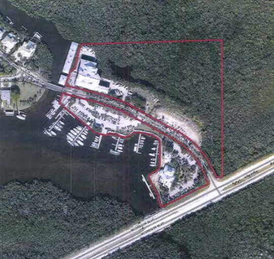 A compromise in a Port Sanibel Marina expansion plan rejected by county commissioners is up for approval Wednesday.