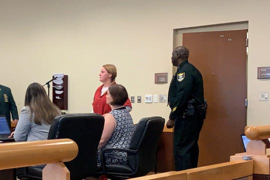 Courtney Gainey pleaded not guilty Monday to two hit-and-run charges that stemmed from a Jan. 11 crash in North Fort Myers that killed Allana Staiano and injured Taylor Stewart.
