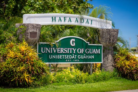 University of Guam students won't be seeing much of its Mangilao campus during summer school this year.
