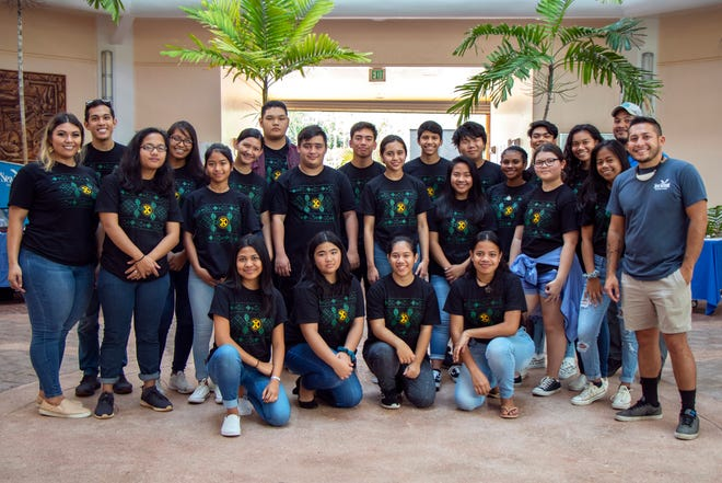 High school and college students presented sustainability-related research projects last July after a four-week fellowship program led by the University of Guam Center for Island Sustainability and UOG Sea Grant. The university will be offering another youth-focused program this March related to leadership in climate change.
