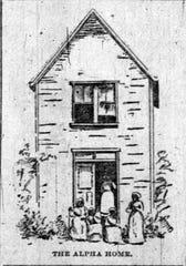Original Alpha House in 1892