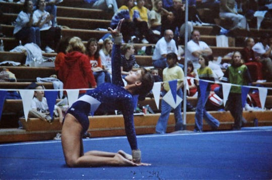 Nicole Richards was competing as a Level 9 gymnast, one level below the highest possible in USA Gymnastics.