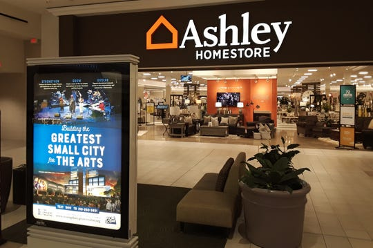 When Coral Ridge Mall's longtime anchor Younkers closed here in 2018, Ashley HomeStore took its place last fall to add a furniture component to the retail center