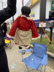 Nicole Fairconeture of Pass Christian told the Sun Herald her 12-year-old daughter received this doll with beads formed like a noose around its neck at the Krewe of Nerieds parade on Sunday, Feb. 16, 2020. Officials told the Sea Coast Echo that there is a police investigation into the incident.