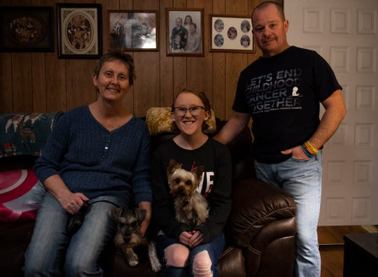Hannah Reeves and her family have supported Reeves and help her raise money for other children who are battling cancer. Reeves enjoys making chocolate covered strawberries to sell to the community.
