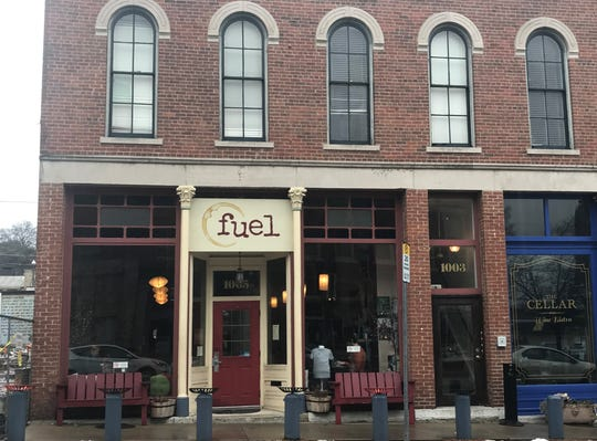 The exterior of Fuel Coffee Company, 1005 Main St. in Lafayette.