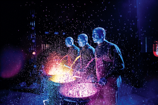 Blue Man Group will perform Feb. 20 at Purdue's Elliott Hall of Music.