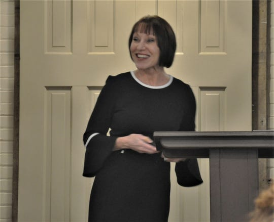 Life Mastery Consultant Amy Walston is shown presenting a Vision Workshop last November at The Pickwick Place in Bucyrus. Walston trained to become a certified life mastery consultant through the Life Mastery Institute. She offers life-coaching services for individuals and groups in the central Ohio area.