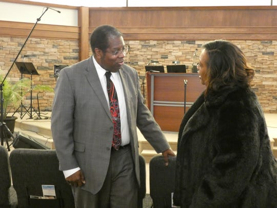 Bob Nunnally, the morning meteorologist at Channel 4, visits his hometown of Marion Saturday to speak at a worship service in honor of Black History Month at Marion Bible Fellowship.