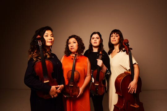 The Aizuri Quartet will perform Oct. 23-25 with the Milwaukee Symphony Orchestra.