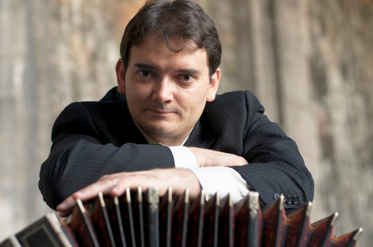 Argentinean bandoneonist Héctor Del Curto performs March 12-14, 2021 with Milwaukee Symphony.