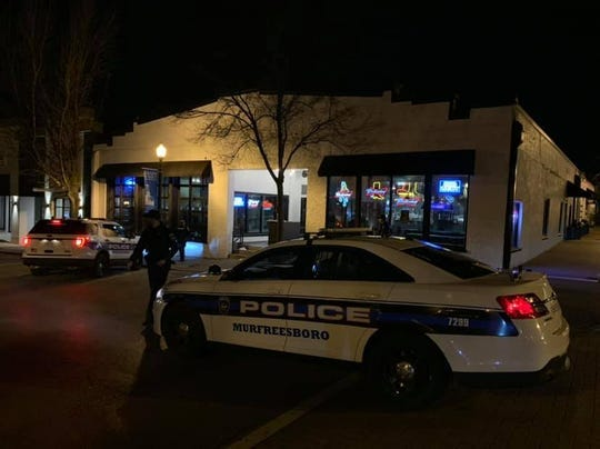Murfreesboro police responded to a shooting inside Whiskey Dix on Sunday, Feb. 16, 2020.
