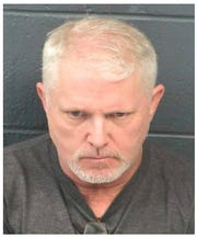 Robert Yacone's booking photo following his arrest in Las Cruces on Saturday, Feb. 15, 2020.