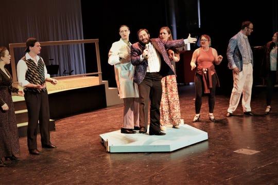 "The Four Corners Musican Theatre Company presentation of ""Disaster!"" runs Feb. 20-23 at the Farmington Civic Center."