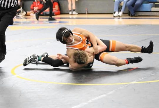 Northville's Noah Myung placed fourth in the 130 weight class.