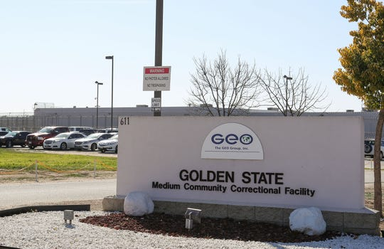 GEO Group operates the Golden State Medium Community Correctional Facility in McFarland, California, February 12, 2020.