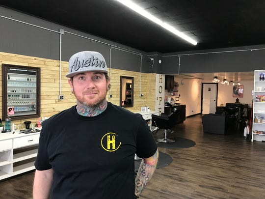 Bryan Asper is the owner of Hope Salon, located at 512 Broadway in Hanover.