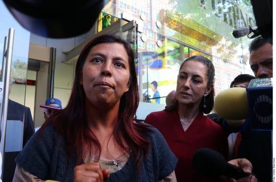 La madre de fátima pide justicia a las autoridades.