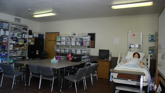 A Nightingale College classroom. The Lebanon classroom will be within Cedar Haven Healthcare Center.