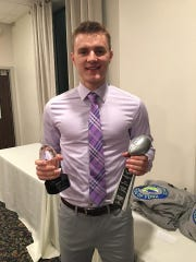 New Oxford quarterback Brayden Long earn another major honor on Sunday at the Quarterback Club of York banquet.