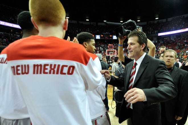 Steve Alford won a combined six Mountain West championships during his time at New Mexico.