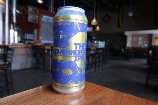 Swiftwater Brewing's The Governor's IPA, which is made with 100 percent New York state-grown ingredients.