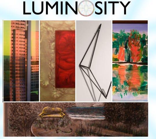 "Salisbury Art Space is hosting the new exhibit ""Luminosity"" through Feb. 27."