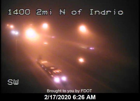 A fog advisory was issued early Feb. 17, 2020.