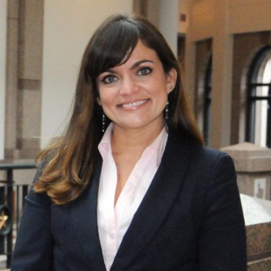 Lyda Ness Garcia, Democratic candidate for District Judge, 383rd Judicial District.