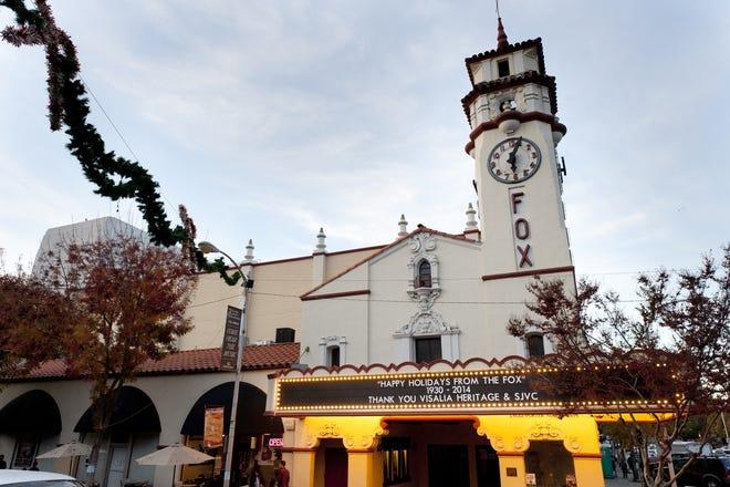 The Visalia Fox Theater
