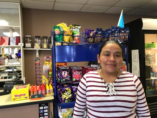 Ebenezer Grocery and Taqueria opened Jan. 24 at 900 Grand Ave. in Schofield. The taqueria side is planned for an opening Wednesday, Feb. 19, 2020. Owner Wendy Monzon, pictured, was excited to go into business for herself.