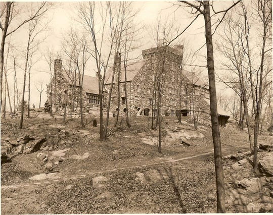 Historical photo of Elda. Built by David T. Abercrombie in the 1920s, the castle today is in need of major renovations.