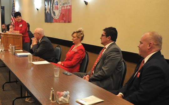 The Wichita County Republican Women hosted a forum allowing candidates running for various elected positions to talk to voters about why they should be elected.