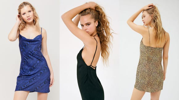 Slip dresses can work well for day or eveningwear, and that's part of their versatility.