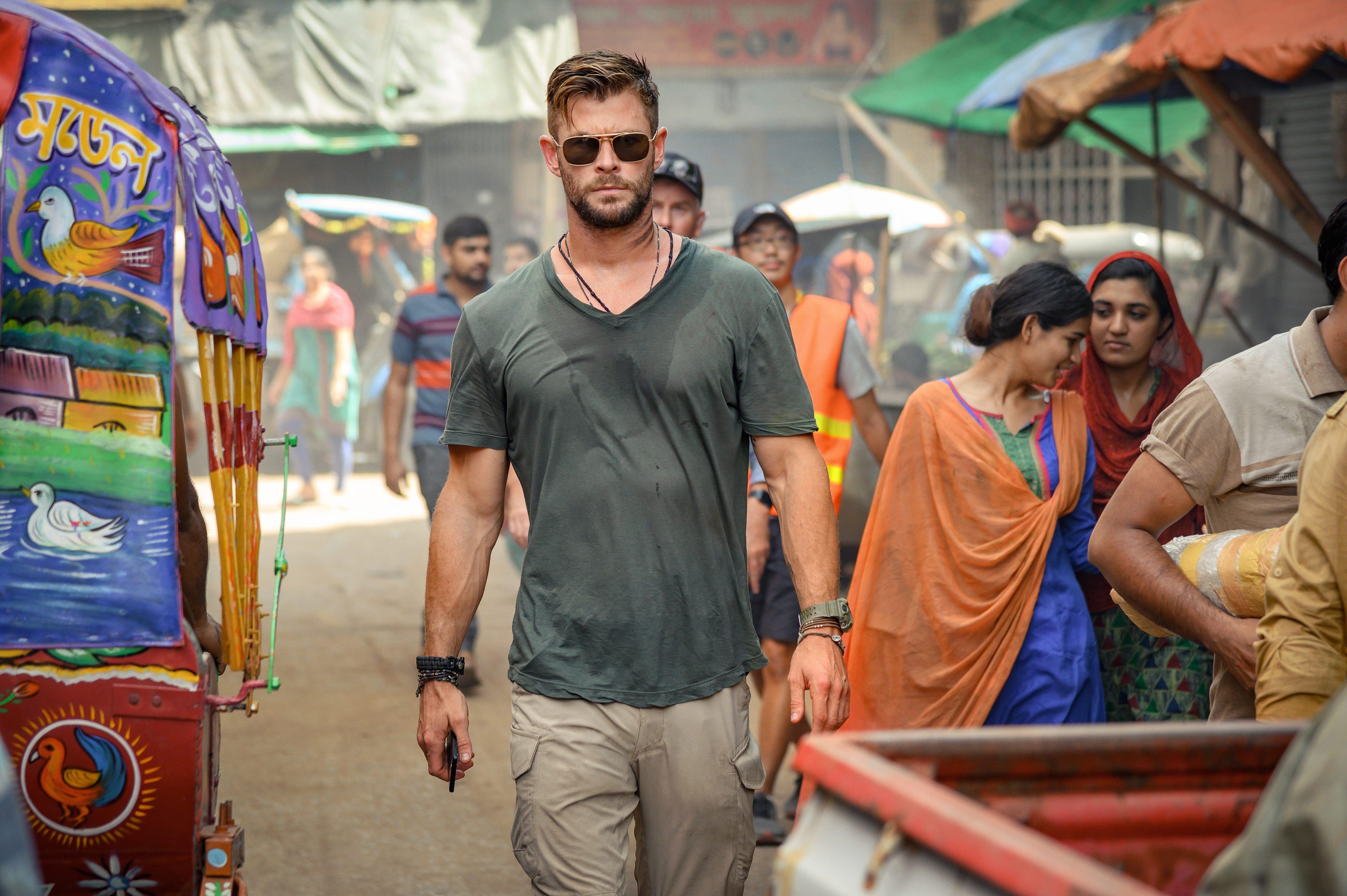 Chris Hemsworth: See exclusive photos of new Netflix film 'Extraction'