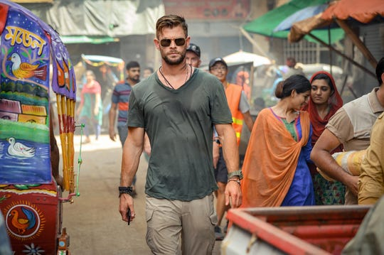 """Chris Hemsworth stars as a black-market mercenary on a rescue mission and a path of redemption in the Netflix action movie """"Extraction."""" The film was produced by David Guillod."""