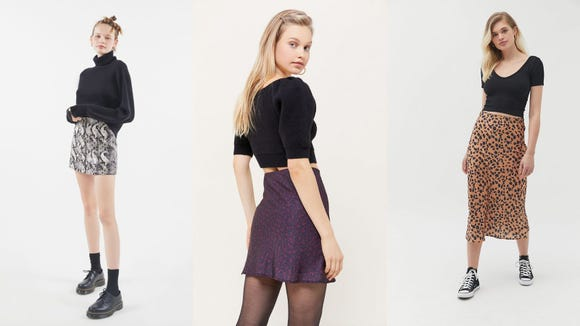 Launch into spring with these hella cute skirts from Urban.