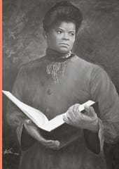 Ida B. Wells, the subject of this 1994 painting, received a special citation from the Pulitzer Board Monday for her courageous reporting during the lynching era.