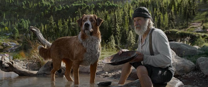 Call of the Wild' offers CGI dogs, Alaskan scenery and Harrison Ford