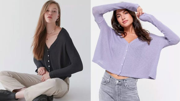Simple, slouchy, and on sale.