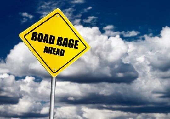 Road rage sign