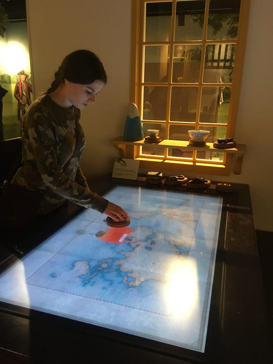 The Museum of the American Revolution in Philadelphia includes interactive components.
