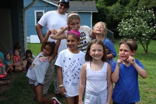 Asheville Jewish Community Center offers Camp Ruach day camp for rising grades 1-8.