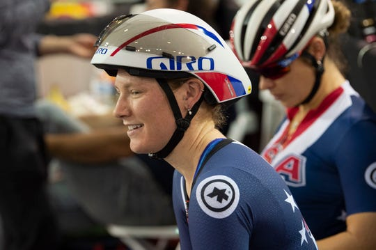 Lilly Williams of Asheville, a member of Team USA, will compete in the UCI Track Cycling World Championships in Berlin starting Feb. 26.