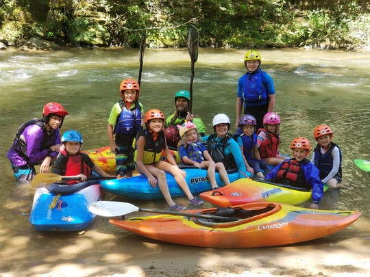 H2O Dreams offers Green River youth kayak camp to teach kids the basics of kayaking and beyond.