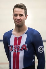 Adrian Hegyvary of Asheville, will represent the United States at the UCI Track Cycling World Championships In Berlin starting Feb. 26.